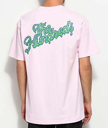 The Hundreds Ooze Slant Pink T-Shirt