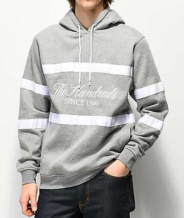 The Hundreds Palmer Grey Hoodie