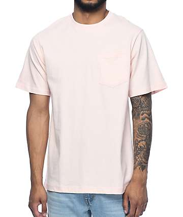 The Hundreds Perfect Pink Pocket T-Shirt