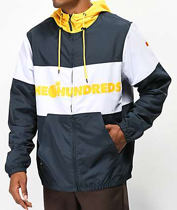 The Hundreds Port Navy & Yellow Jacket