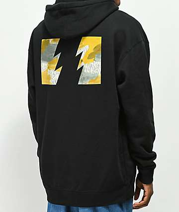The Hundreds Range Black Hoodie