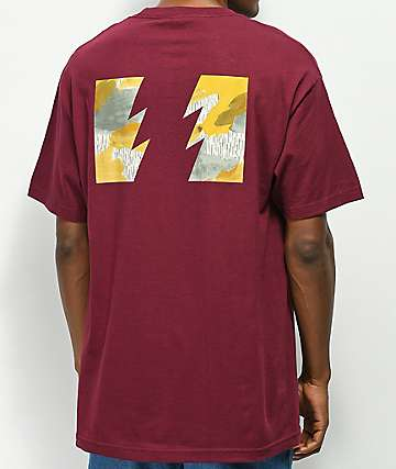 The Hundreds Range Burgundy T-Shirt