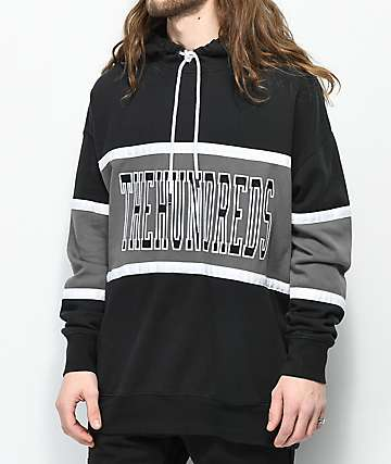 The Hundreds Rebel sudadera negra con capucha