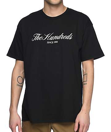 The Hundreds Rich 80 Black T-Shirt