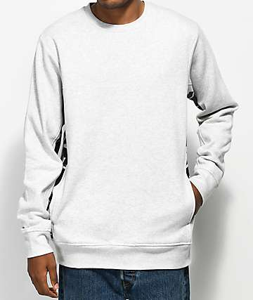 The Hundreds Sidewinder Athletic Heather Grey Crew Neck Sweatshirt