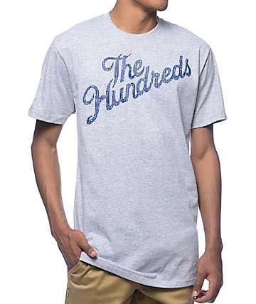 The Hundreds Slant Code Heather Grey T-Shirt