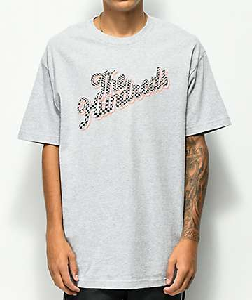 The Hundreds Slant Square Grey T-Shirt