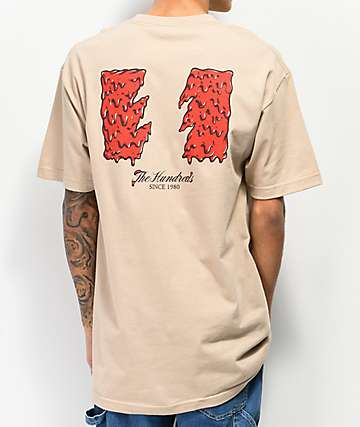 The Hundreds Slime Flag Sand T-Shirt