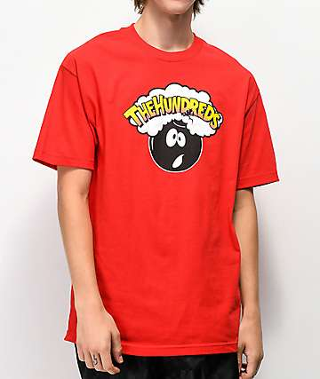 The Hundreds Sour Adam Red T-Shirt