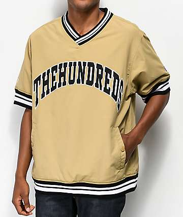The Hundreds Stadium Short Sleeve Windbreaker