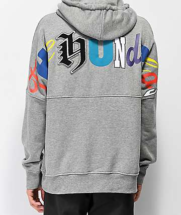 The Hundreds Stalker Adam Grey Hoodie