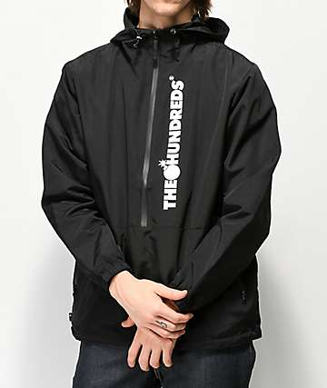 The Hundreds State Black Anorak Jacket