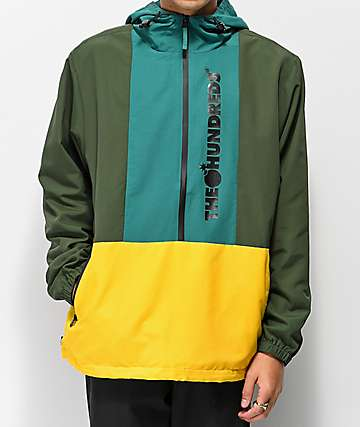 The Hundreds State Olive Anorak Jacket
