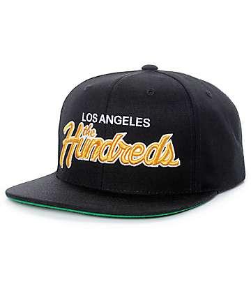 The Hundreds Team Two Black Snapback Hat
