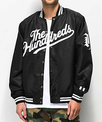 The Hundreds Team chaqueta negra