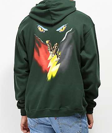 The Hundreds The Claw Green Hoodie