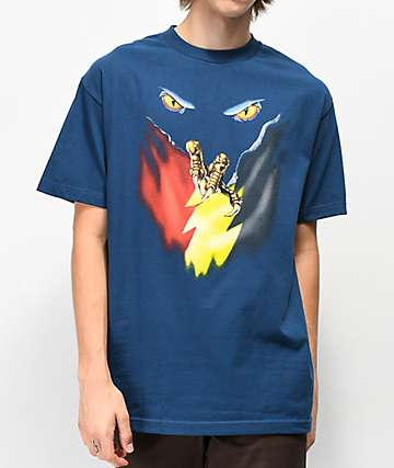 The Hundreds The Claw Navy T-Shirt