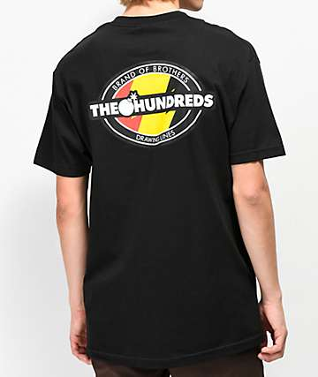 The Hundreds Varsity Black T-Shirt