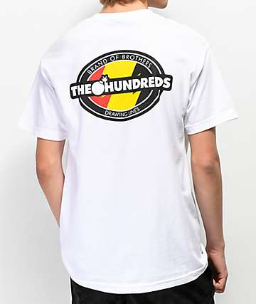 The Hundreds Varsity White T-Shirt