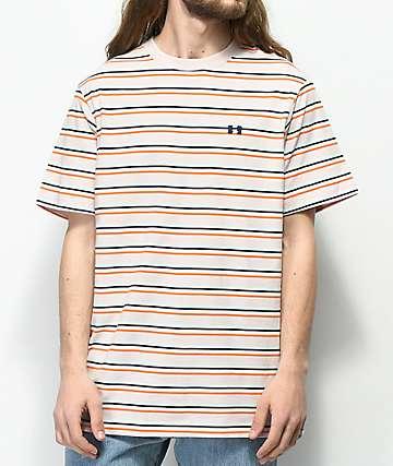The Hundreds Vince camiseta en color malva a rayas