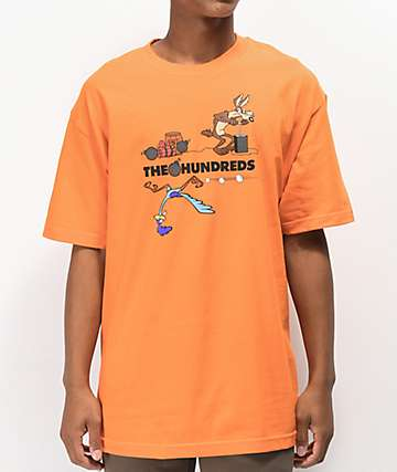 The Hundreds x ACME TNT Orange T-Shirt
