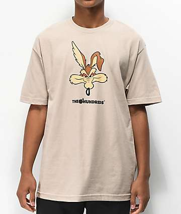 The Hundreds x ACME Wil-E Beige T-Shirt