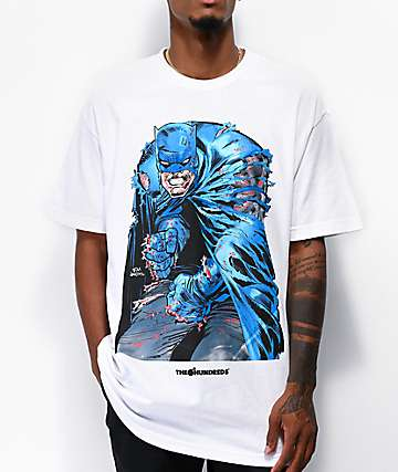 The Hundreds x Batman Ripping White T-Shirt
