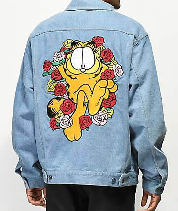 The Hundreds x Garfield Roses Denim Jacket