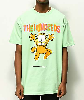 The Hundreds x Garfield Run Mint T-Shirt