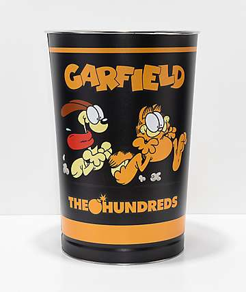 The Hundreds x Garfield Tin Trash Can