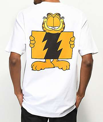 The Hundreds x Garfield Wildfire White T-Shirt