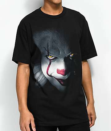 The Hundreds x IT Pennywise camiseta negra