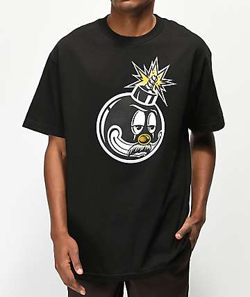 The Hundreds x Mr. Cartoon Bomb Black T-Shirt