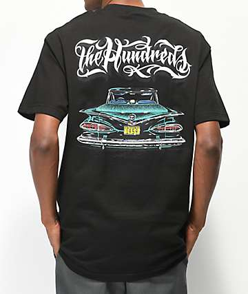 The Hundreds x Mr. Cartoon Fifty Nine Black T-Shirt