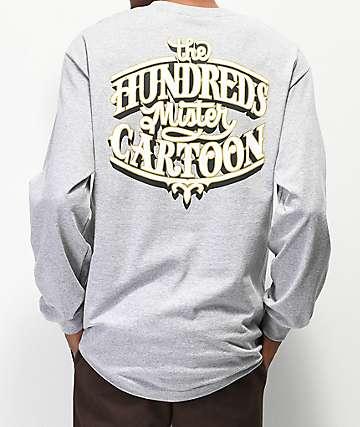 The Hundreds x Mr. Cartoon Impala camiseta gris de manga larga
