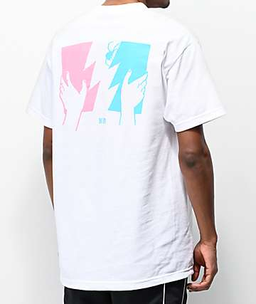 The Hundreds x Never Made Flag White T-Shirt
