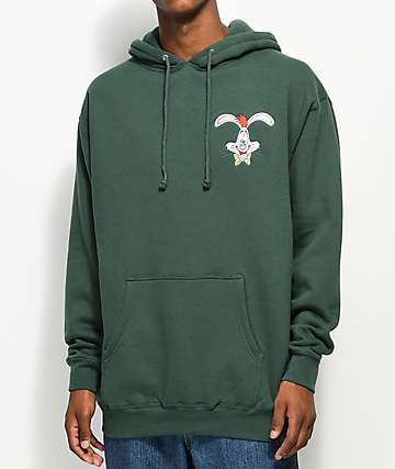 The Hundreds x Roger Rabbit Green Hoodie