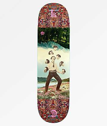 "The Killing Floor Chaplin Heads 8.38"" Skateboard Deck"