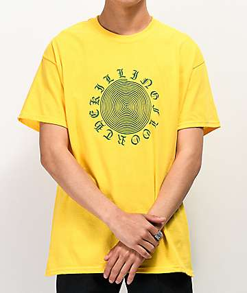 The Killing Floor Spiral Yellow T-Shirt