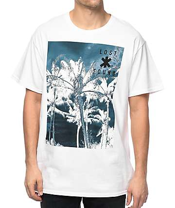 The Lost & Found Collection Up Palm White T-Shirt