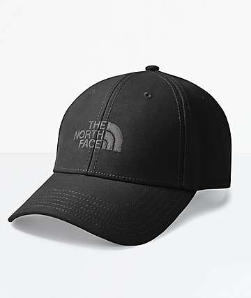 The North Face 66 Classic Black Strapback Hat