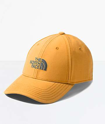 The North Face 66 Classic Citrine Yellow Strapback Hat