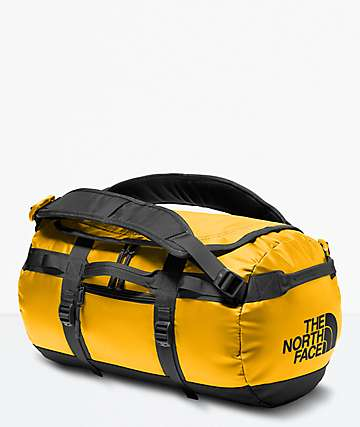 The North Face Base Camp XS Gold Duffle Bag