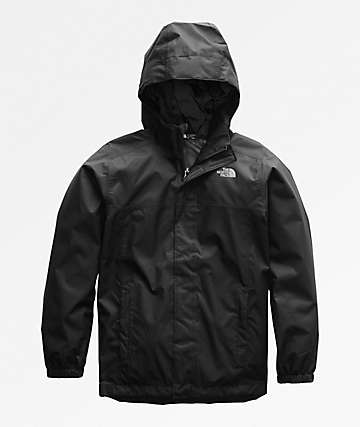 The North Face Boys Resolve Black Jacket