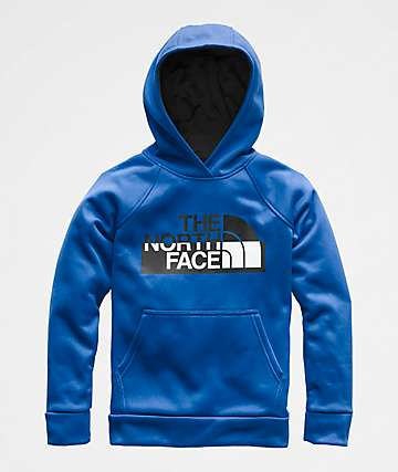 The North Face Boys Surgent 2.0 Blue Hoodie