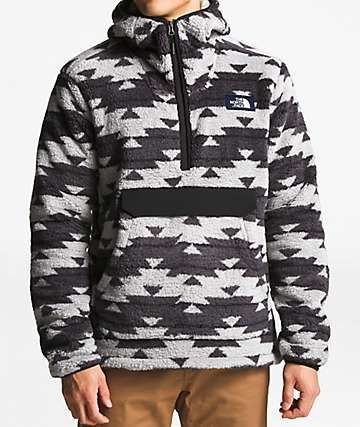 The North Face Campshire California Basket Anorak Fleece Hoodie