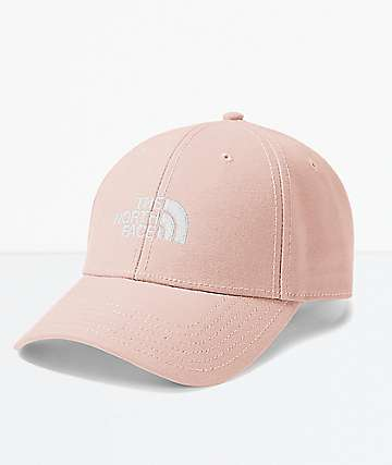 The North Face Classic Pink & White Starpback Hat