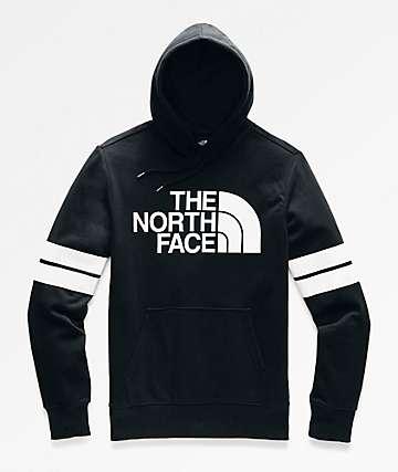 The North Face Collegiate Black & White Hoodie
