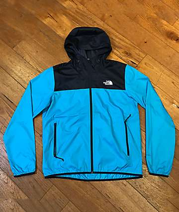 The North Face Cyclone 2.0 Blue & Black Windbreaker Jacket