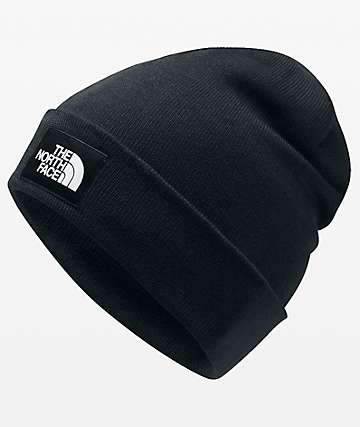 The North Face Doc Worker Black Beanie